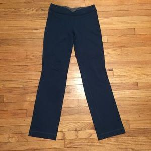 Lululemon dark teal workout pants - sz 6